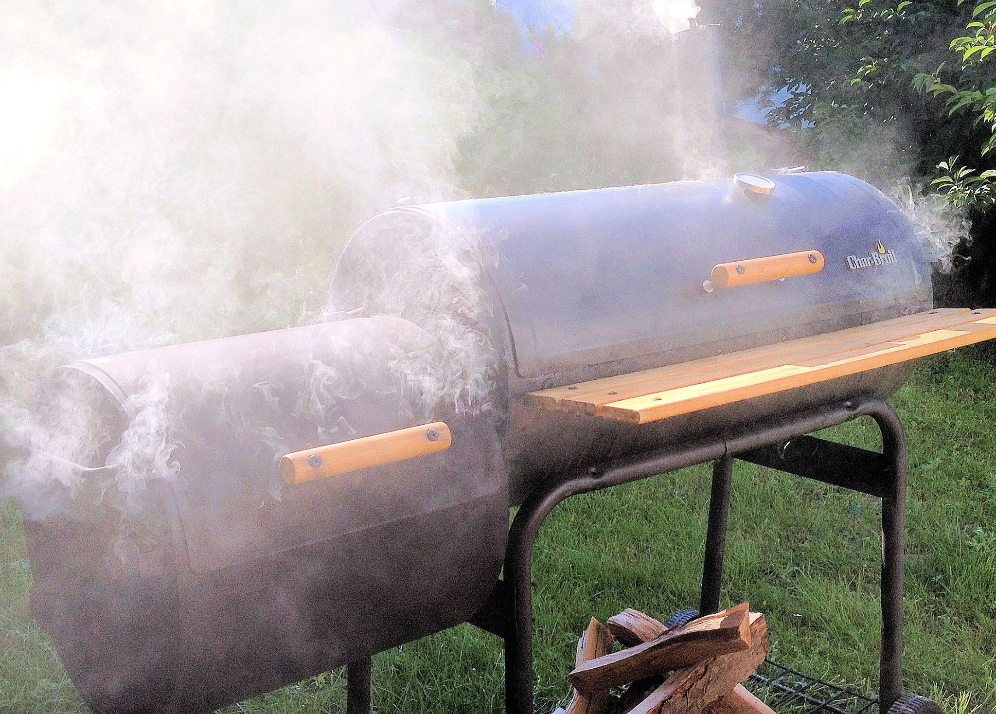 BBQ Smoker καπνιστής